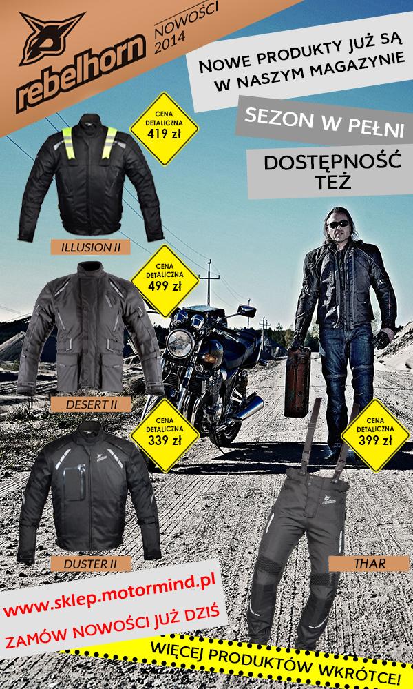 .Nowości w sklepie motocyklowym MotorMind.