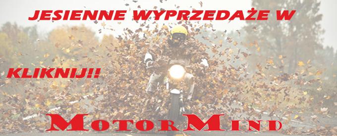 .Jesienne wyprzedaże w sklep motocyklowy MotorMind.